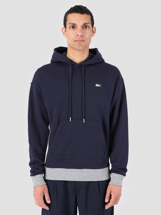 Lacoste 1Hs1 Men'S Sweatshirt 01 Navy Blue Mascarpone-Arba Sh3751-91