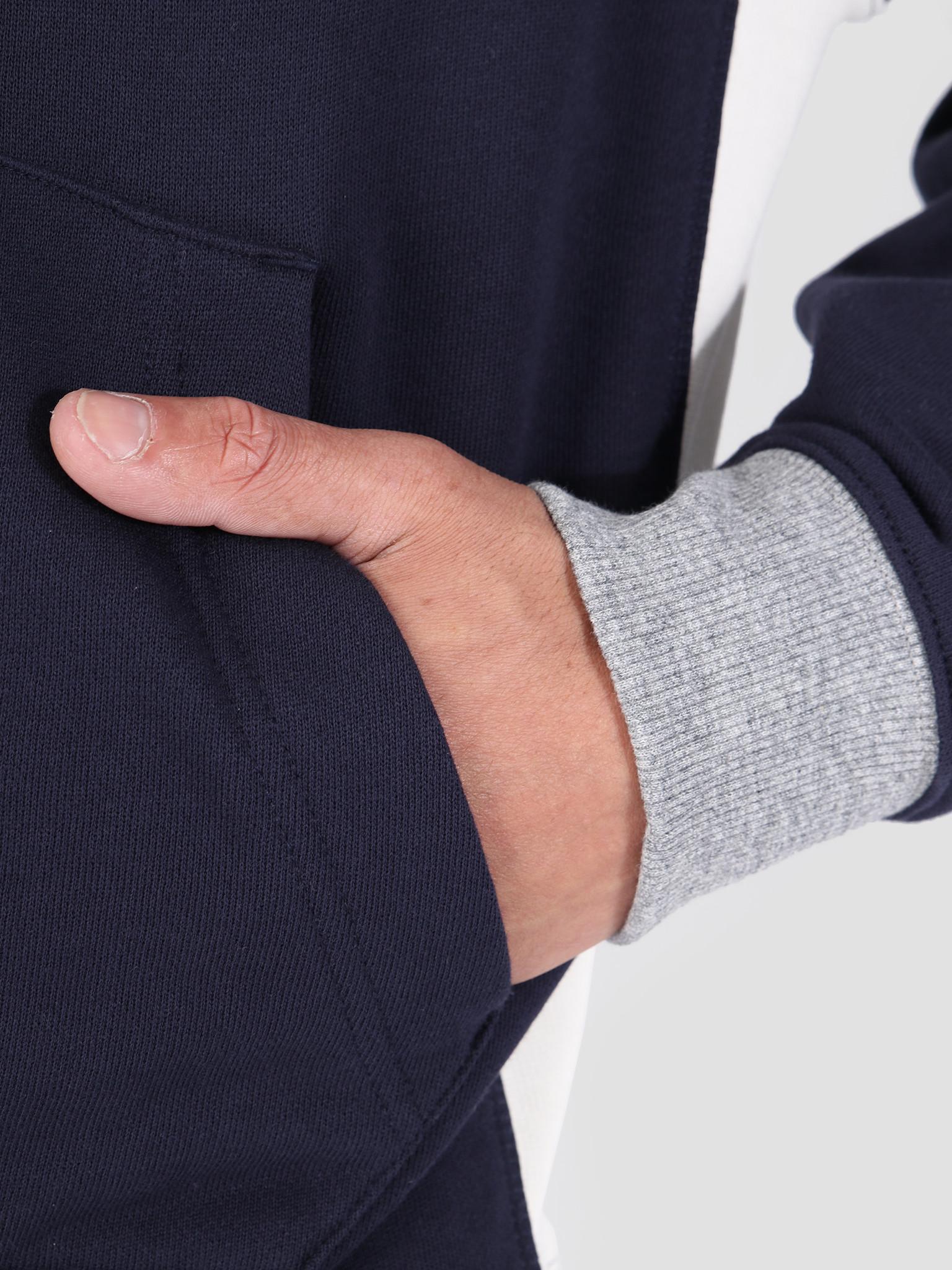 Lacoste Lacoste 1Hs1 Men'S Sweatshirt 01 Navy Blue Mascarpone-Arba Sh3751-91
