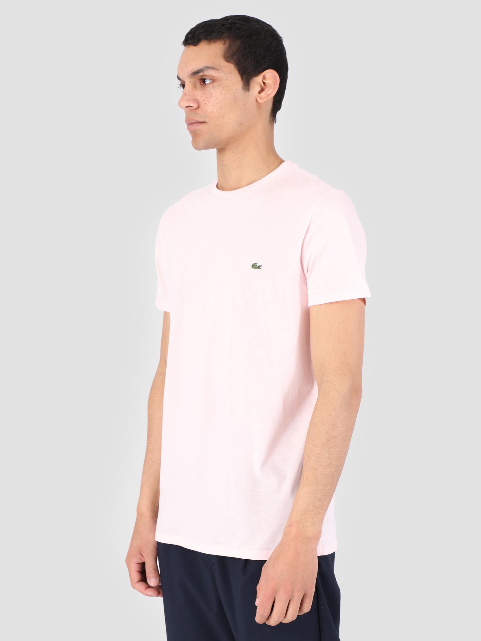 36379e1ba60 Lacoste 1Ht1 Men S T-Shirt 011 Flamingo Th6709-91 - FRESHCOTTON