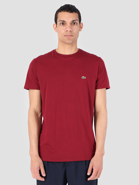 Lacoste 1Ht1 Men'S T-Shirt 011 Pinot Th6709-91