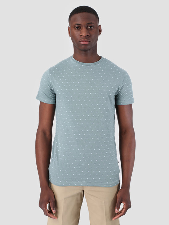 Kronstadt Dots 2 T-Shirt Lead Light Blue KS1262