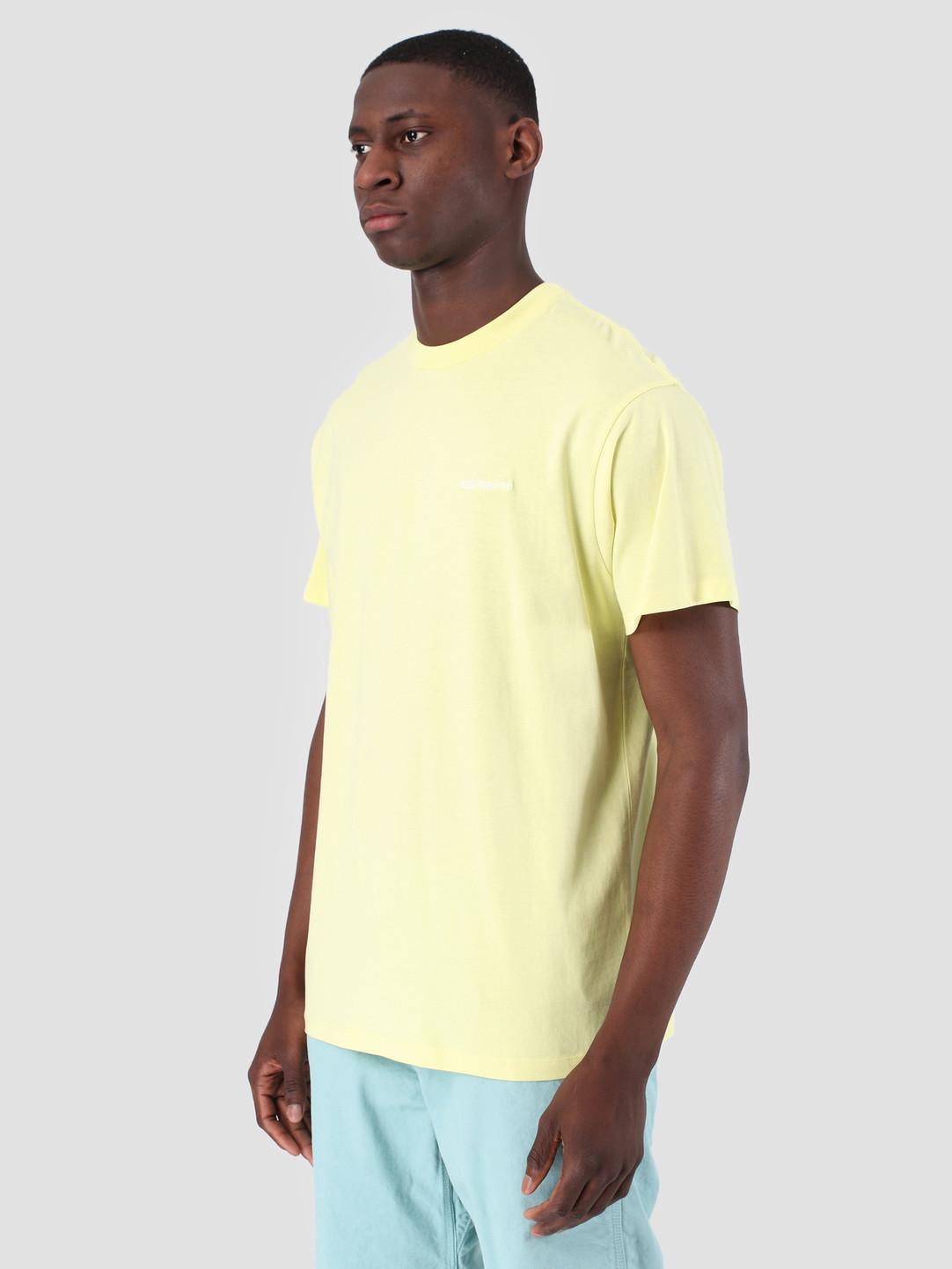 Carhartt WIP Carhartt WIP Short Sleeve Script Embroidery T-Shirt Honeydew White 61091000