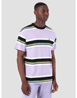 Carhartt WIP Carhartt WIP Short Sleeve Ozark T-Shirt Ozark Stripe Soft Lavender Black 61091000