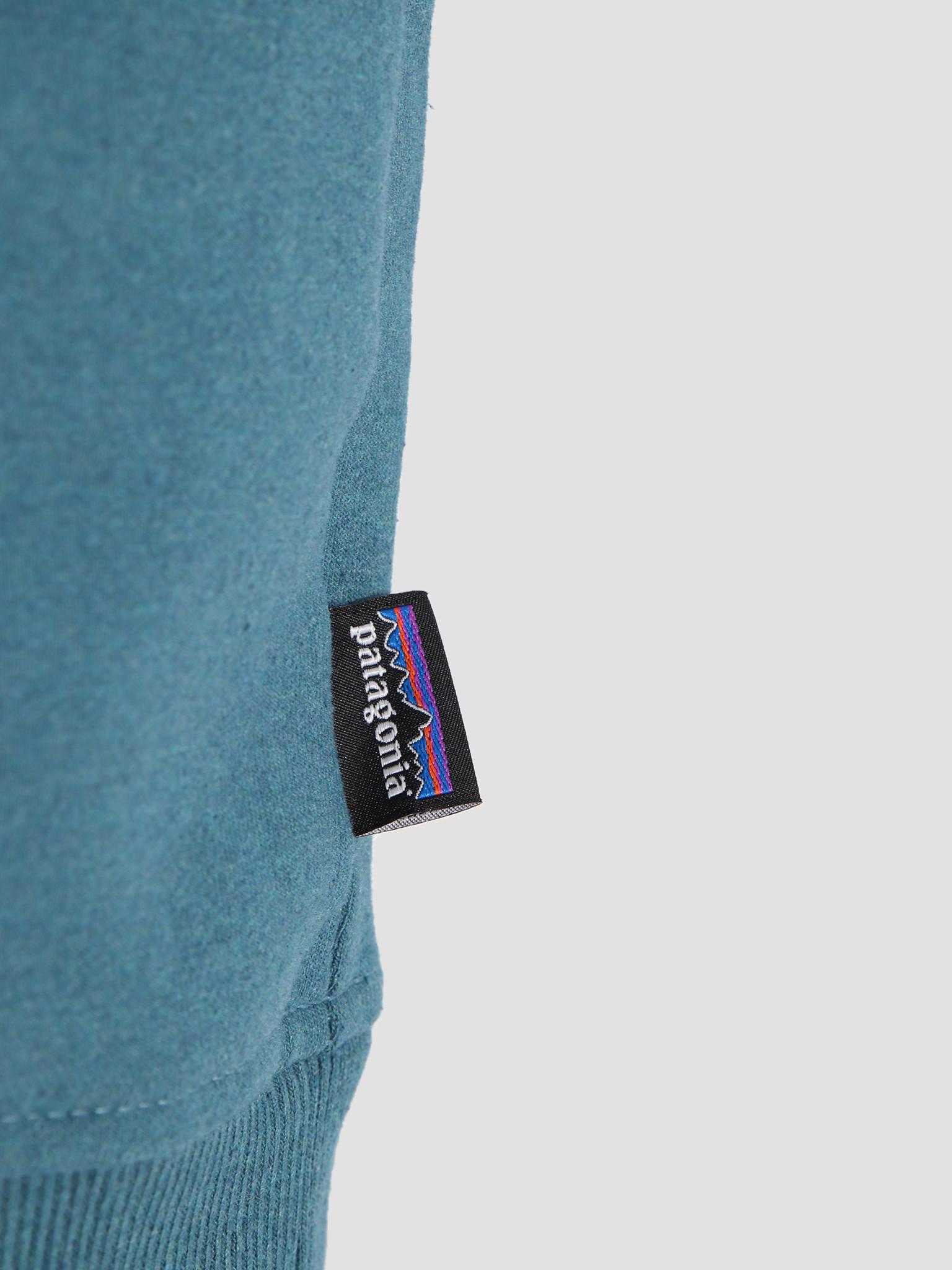 Patagonia Patagonia Shop Sticker Patch Uprisal Crew Sweatshirt Tasmanian Teal 39541