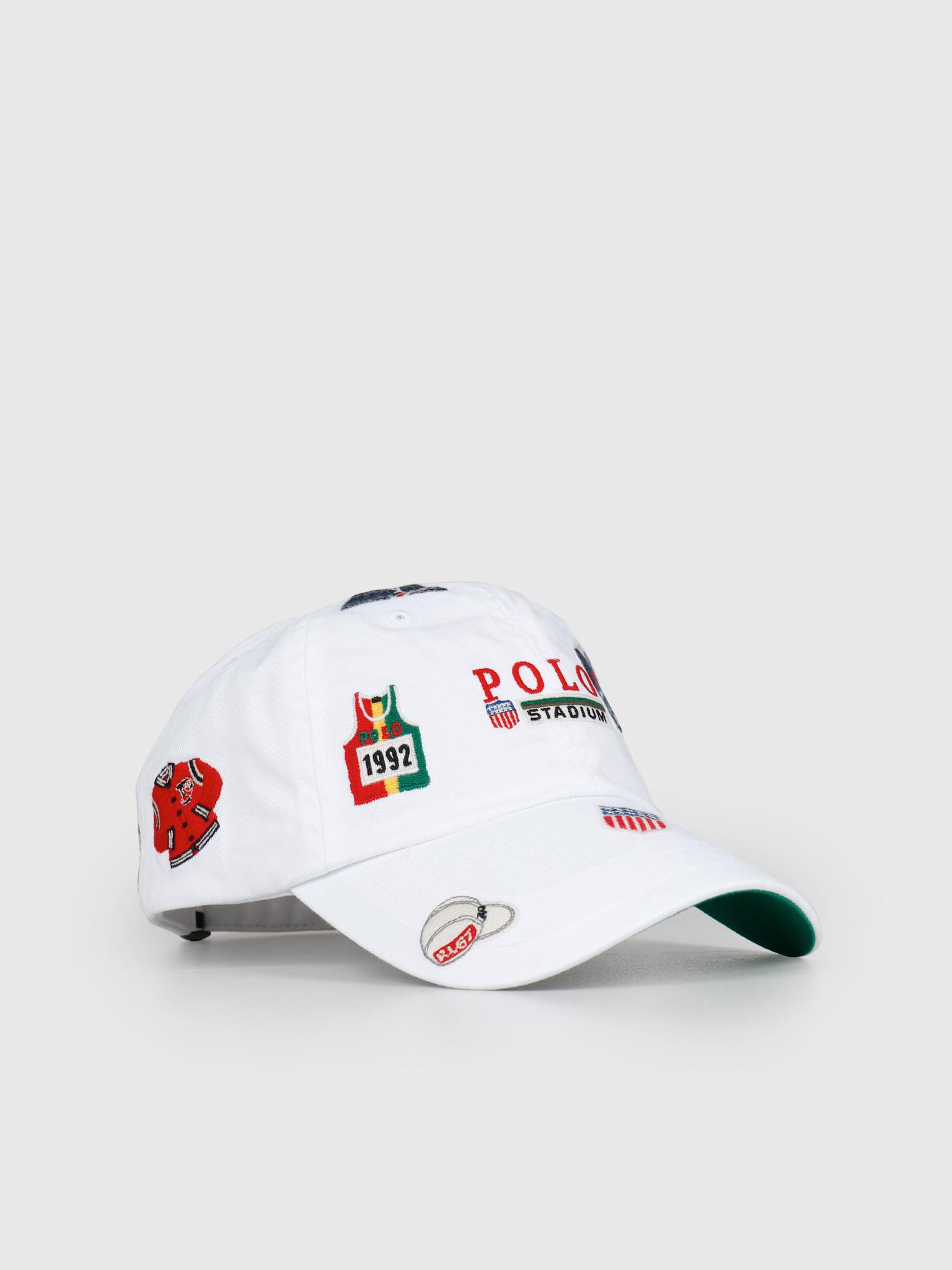 Polo Ralph Lauren Ralph Lauren Classic Sport Cap White 710746116001