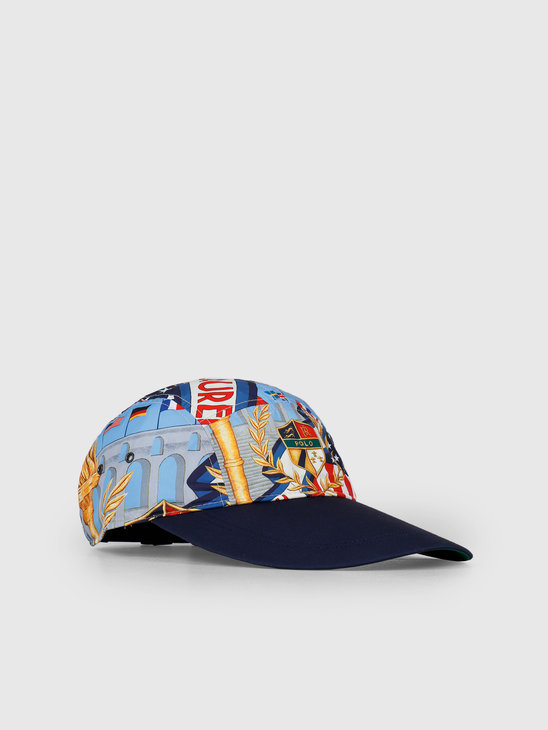 Polo Ralph Lauren 5 Panel Long Bill Cap Multi 710746085001