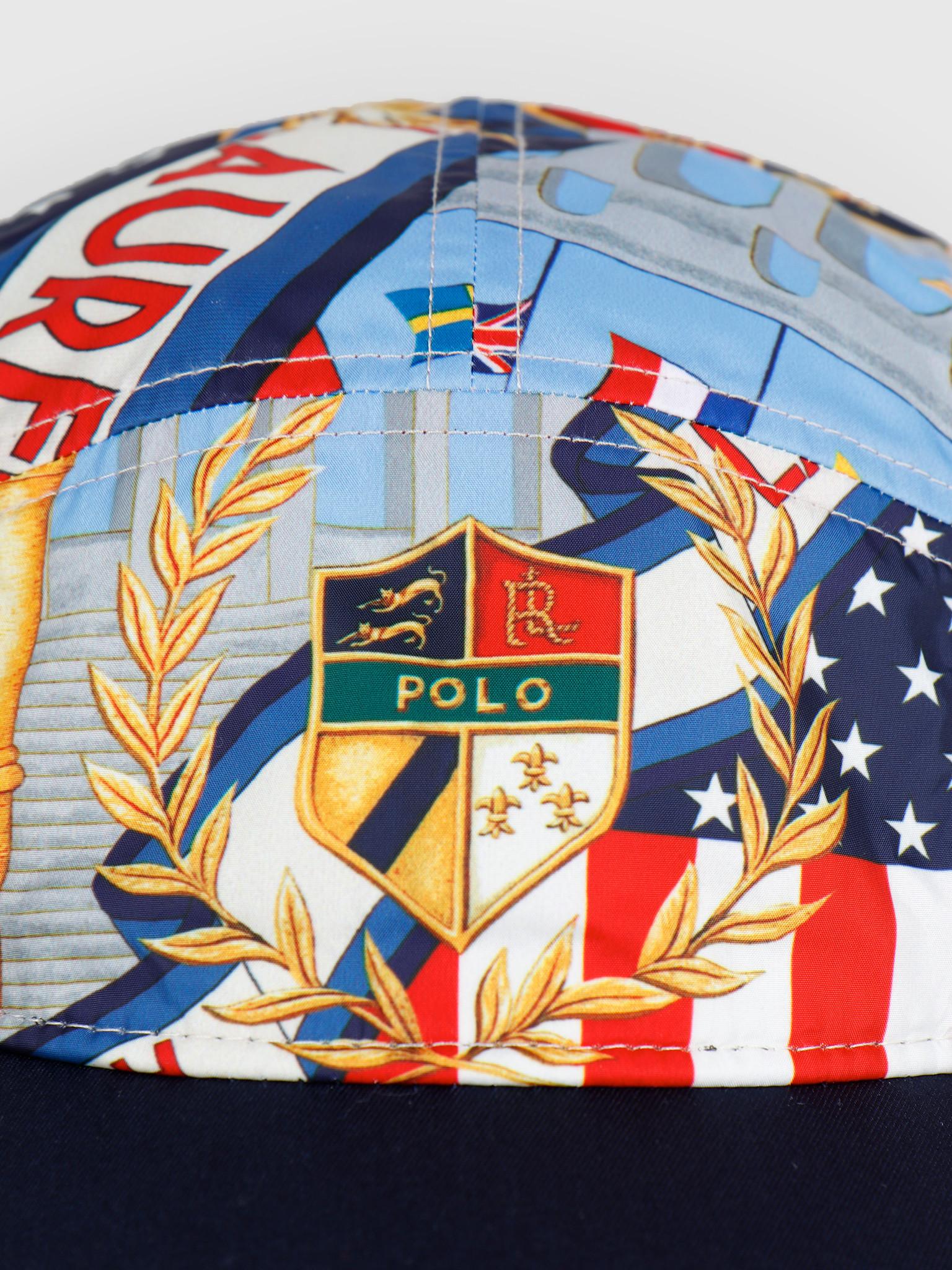 Polo Ralph Lauren Polo Ralph Lauren 5 Panel Long Bill Cap Multi 710746085001