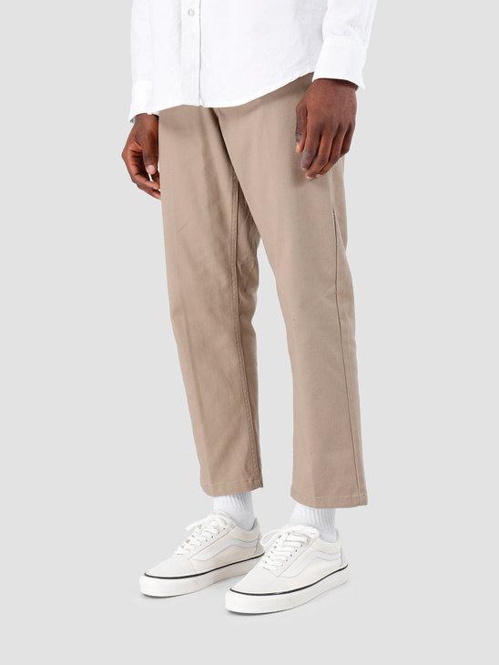 Obey Straggler Flooded Pants Khaki 142020113-KHA