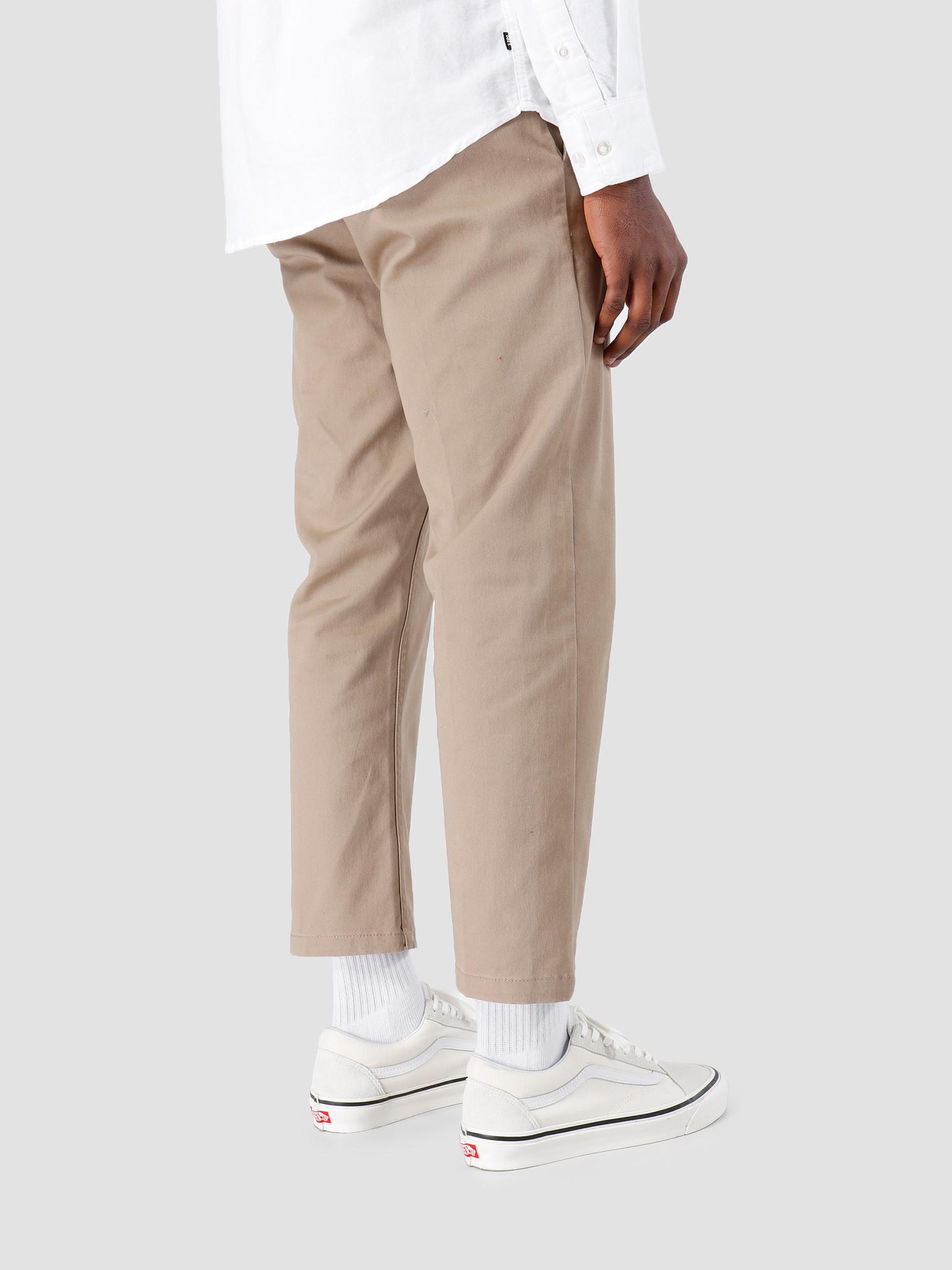 Obey Obey Straggler Flooded Pants Khaki 142020113-KHA
