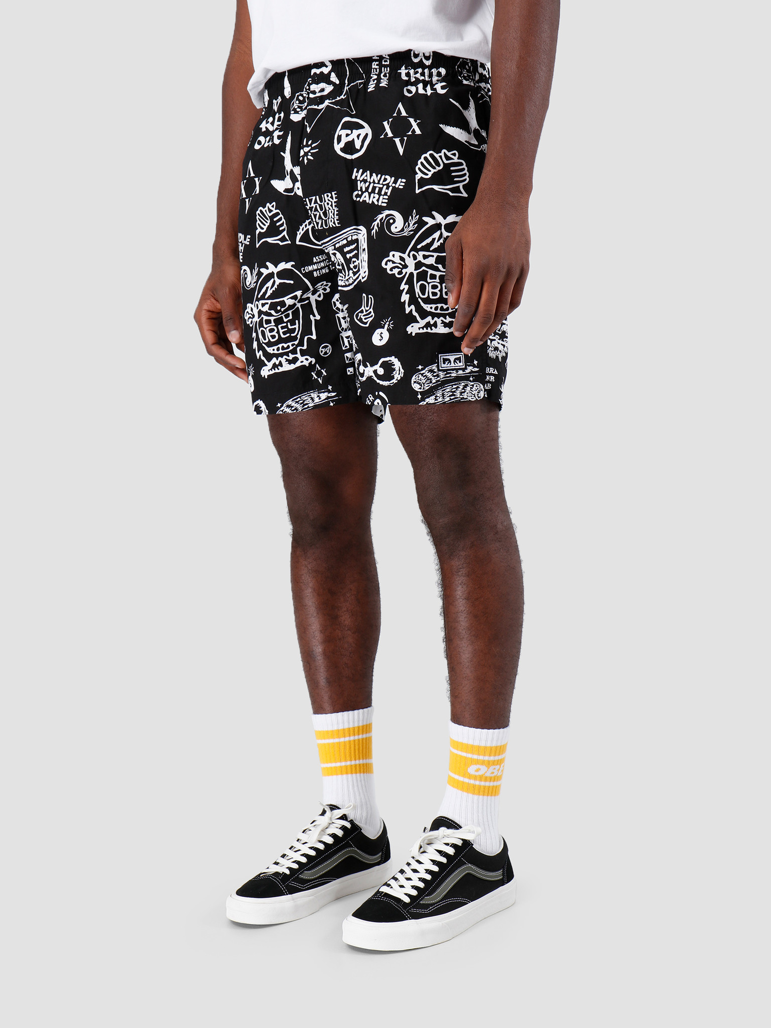 Obey Obey Easy Flash Short BLK 172120047