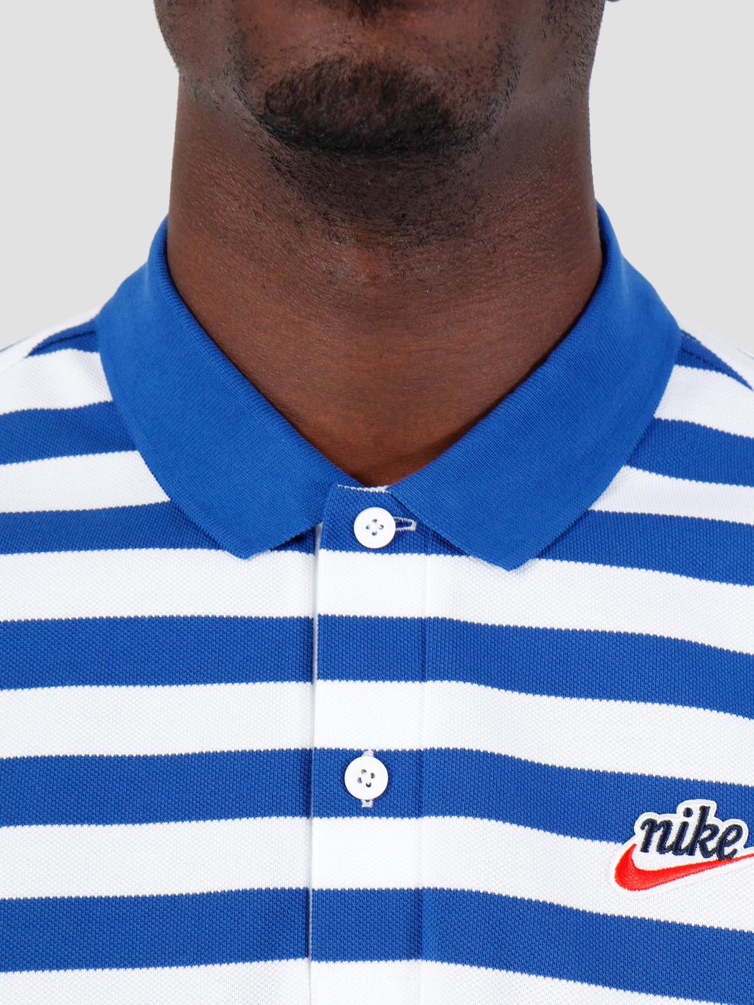 Nike Nike Script Polo Indigo Force BQ9074-438