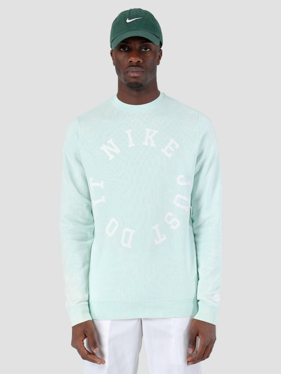 Nike Nsw Ce Crewneck Ft Wash Igloo Summit White AR2929-357