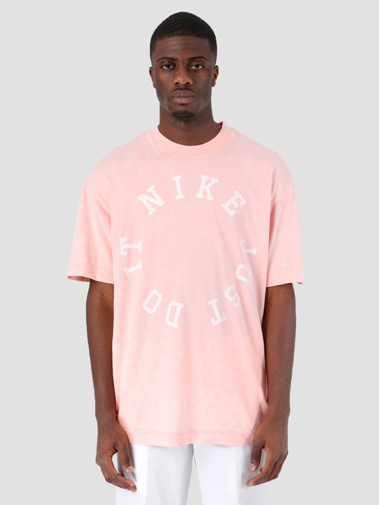 Nike Nsw Ce Top Shortsleeve Wash Bleached Coral Summit White AR2933-697