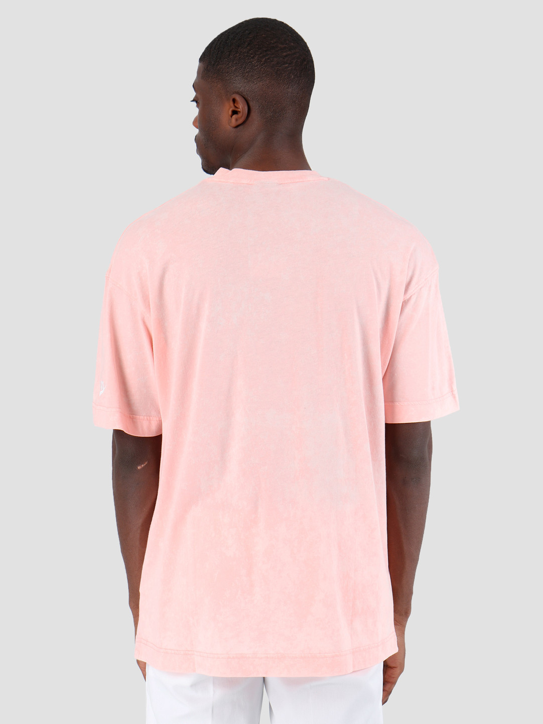 Nike Nike Nsw Ce Top Shortsleeve Wash Bleached Coral Summit White AR2933-697