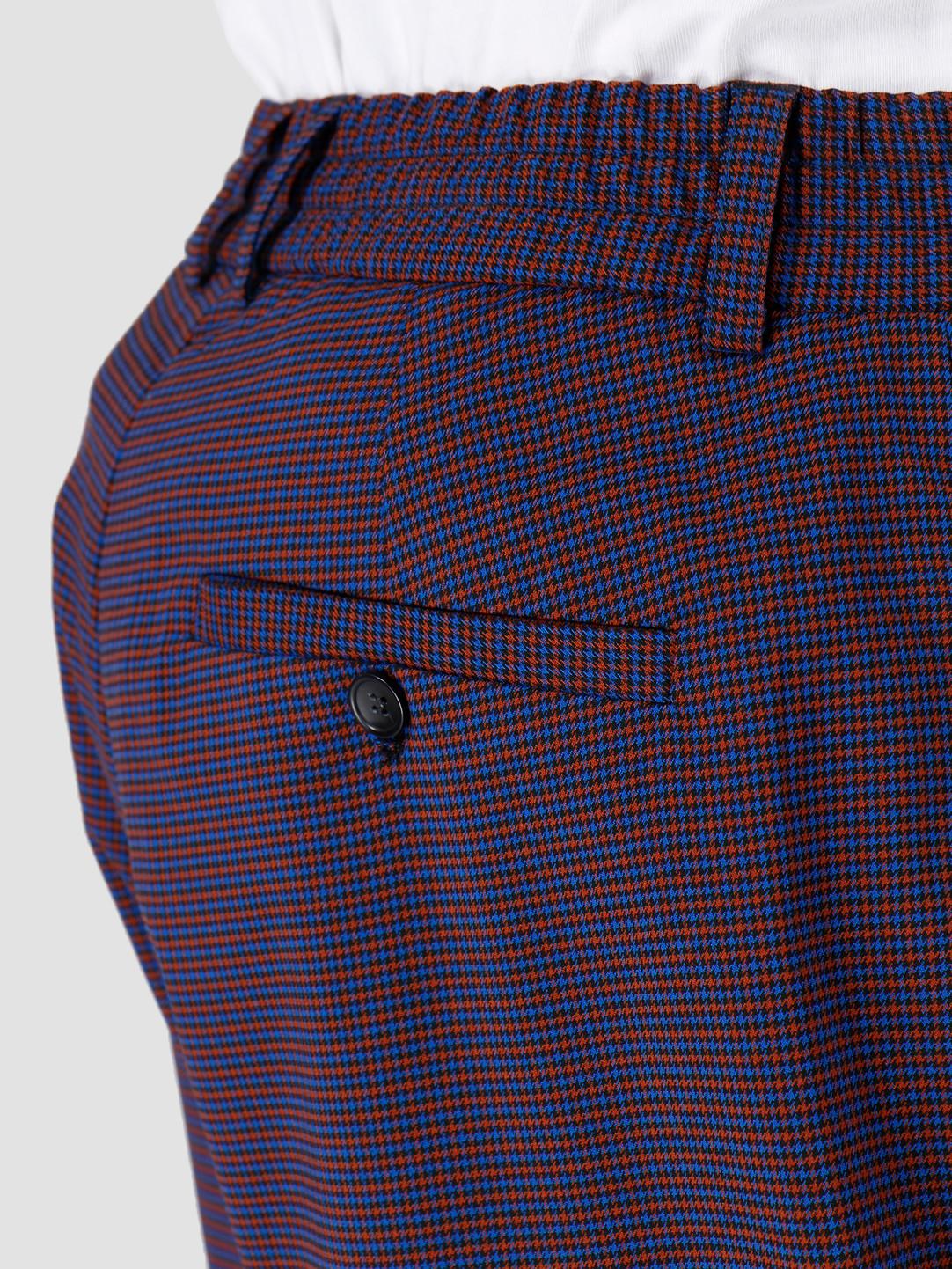 Libertine Libertine Libertine Libertine Gibbon Shorts Royal Blue Check 1611