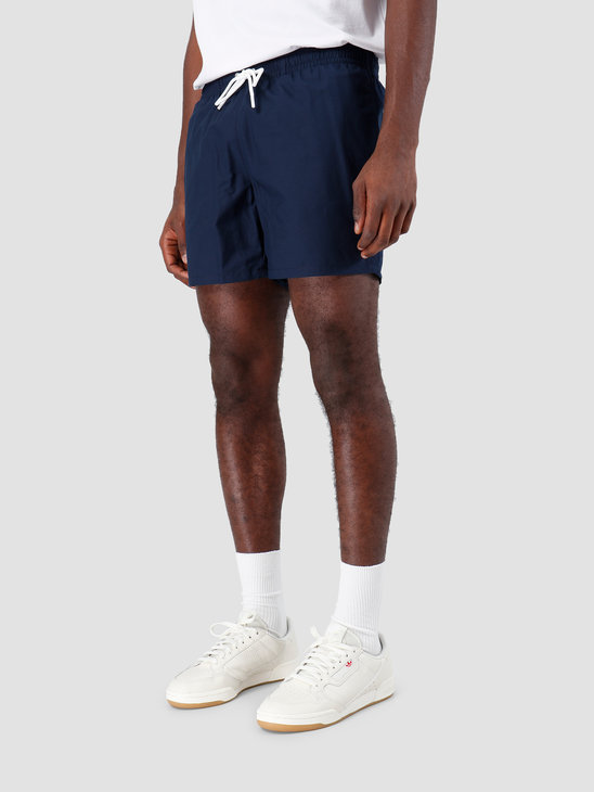 Lacoste 1Hm1 Men'S Swimming Trunks 01 Navy Blue Creek Mh7092-91