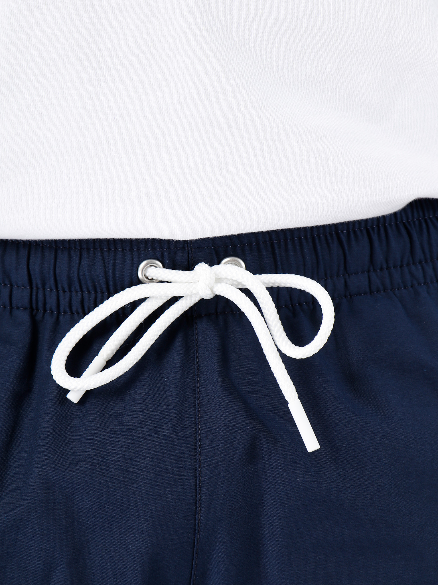 Lacoste Lacoste 1Hm1 Men'S Swimming Trunks 01 Navy Blue Creek Mh7092-91
