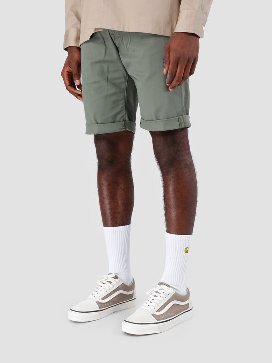 Carhartt WIP Swell Short Rinsed Dollar Green I012292
