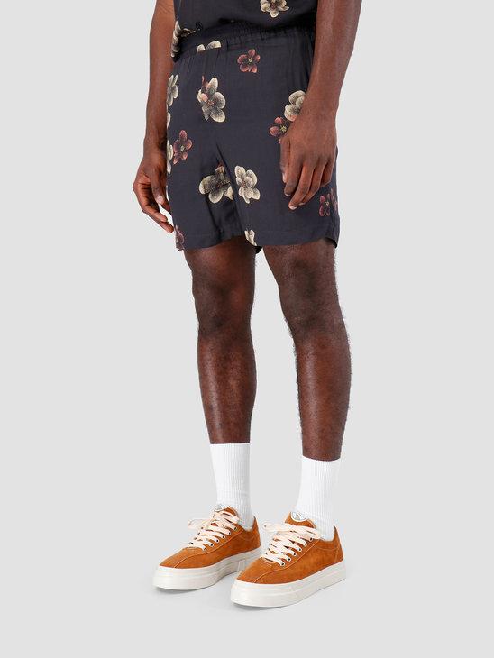 Libertine Libertine Front Shorts Dark Flowers 1632