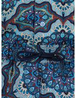 Les Deux Les Deux Psycadelic Swimshorts Placid Blue LDM540007