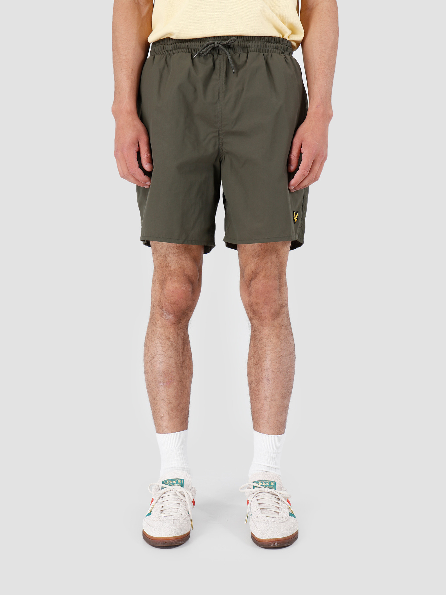 Lyle and Scott Lyle and Scott Plain Swim Short 028 Dark Sage SH806V