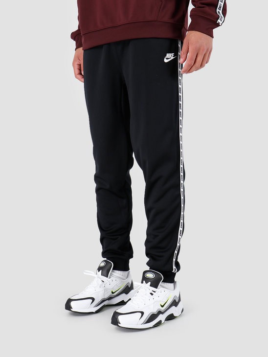Nike Repeat Pant Poly Black White AR4912-010