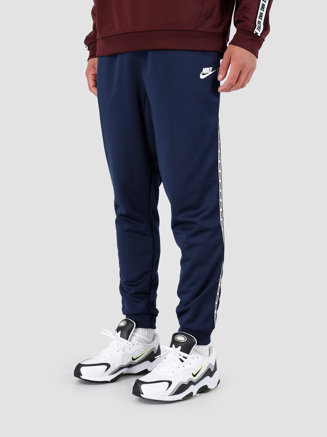 2019 original half price sale online Nike Repeat Pant Poly Obsidian White AR4912-451
