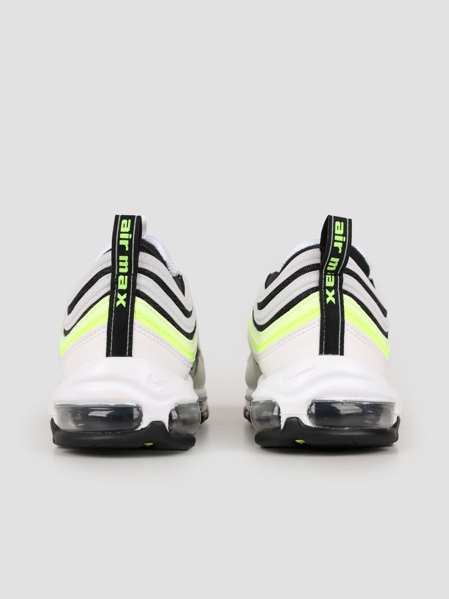 Nike Nike Air Max 97 Se White Volt Barely Volt Black AQ4126-101