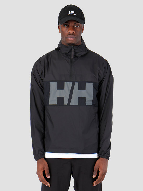 Helly Hansen Active Windbreaker Anorak 980 Ebony 53280980