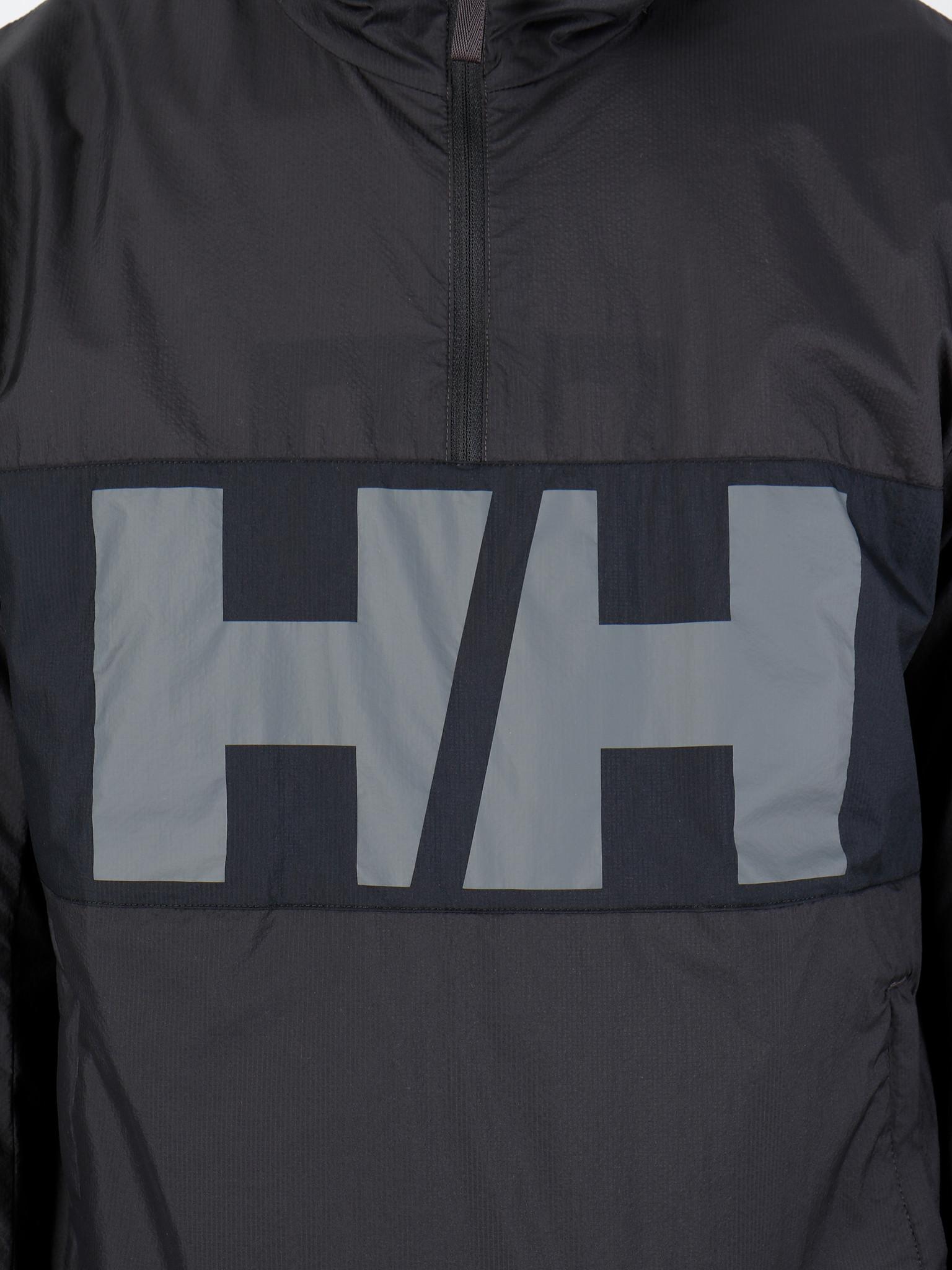 Helly Hansen Helly Hansen Active Windbreaker Anorak 980 Ebony 53280980