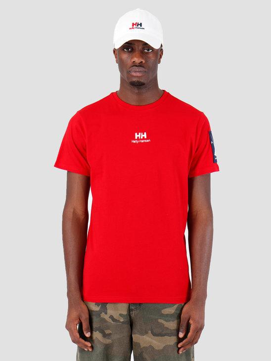 Helly Hansen HH Urban T-Shirt 2.0 162 Red 29851162