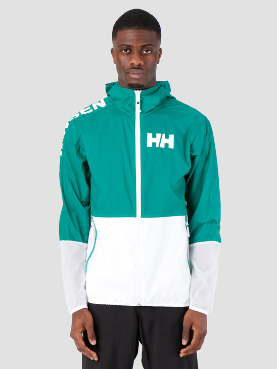 Helly Hansen Active Windbreaker Jacket 471 Pepper Green 53293471