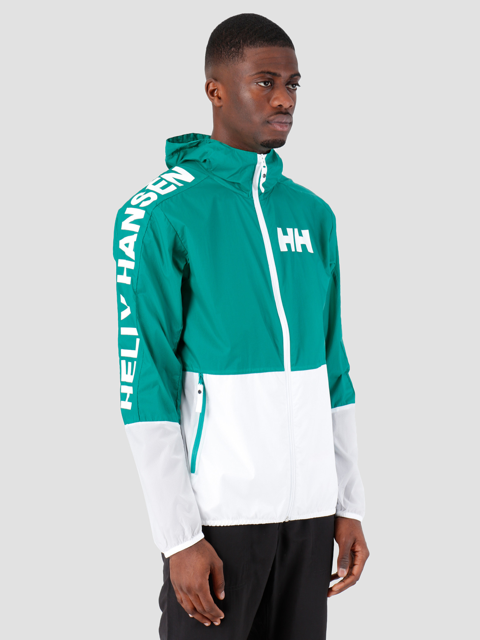 Helly Hansen Helly Hansen Active Windbreaker Jacket 471 Pepper Green 53293471