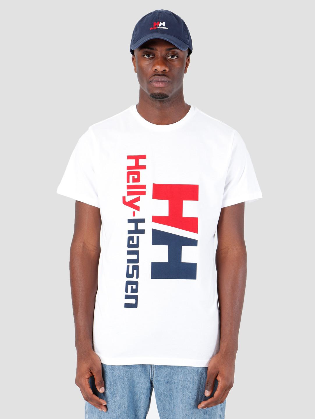 Helly Hansen Helly Hansen HH Retro T-Shirt 001 White 29662001