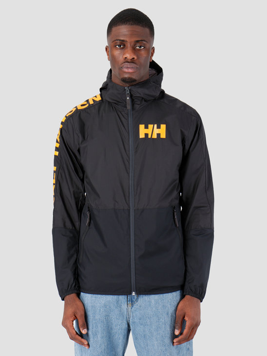 Helly Hansen Active Windbreaker Jacket 980 Ebony 53293980