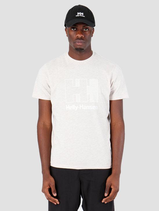Helly Hansen HH Logo T-Shirt 946 Oatmeal Melange 53165946
