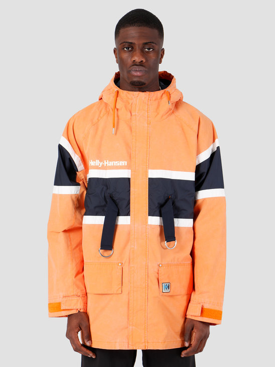 Helly Hansen HH Salt Heritage Jacket 205 Orange Peel 53234205