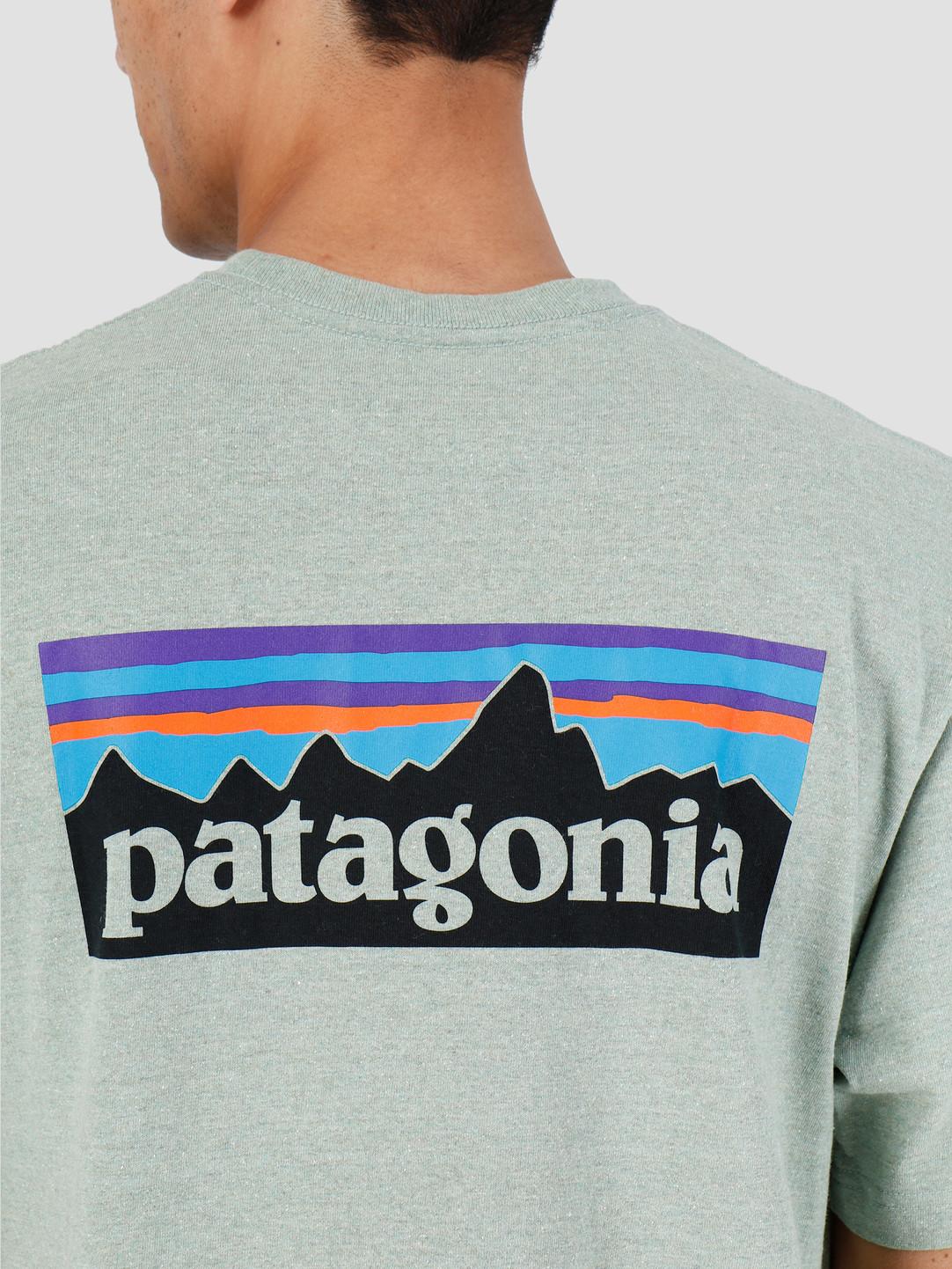 Patagonia Patagonia P6 Logo Responsibili Tee Celadon 39174