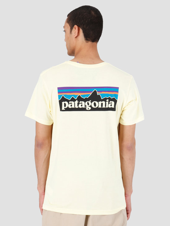 Patagonia P6 Logo Organic T-Shirt Resin Yellow 39151