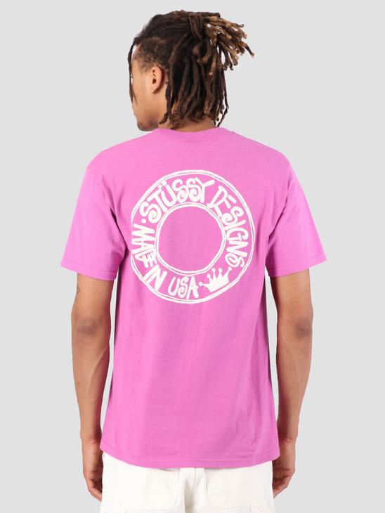 Stussy Buana T-Shirt Berry 0623