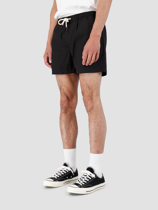 Wemoto Rowley Pants Black-White 131.709-117