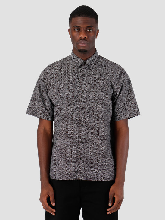 Carhartt WIP Short Sleeve Typo Shirt Typo Print Tobacco Wax 62052000