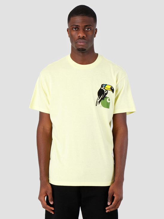 Carhartt WIP Short Sleeve Nosebird T-Shirt Honeydew 61091000
