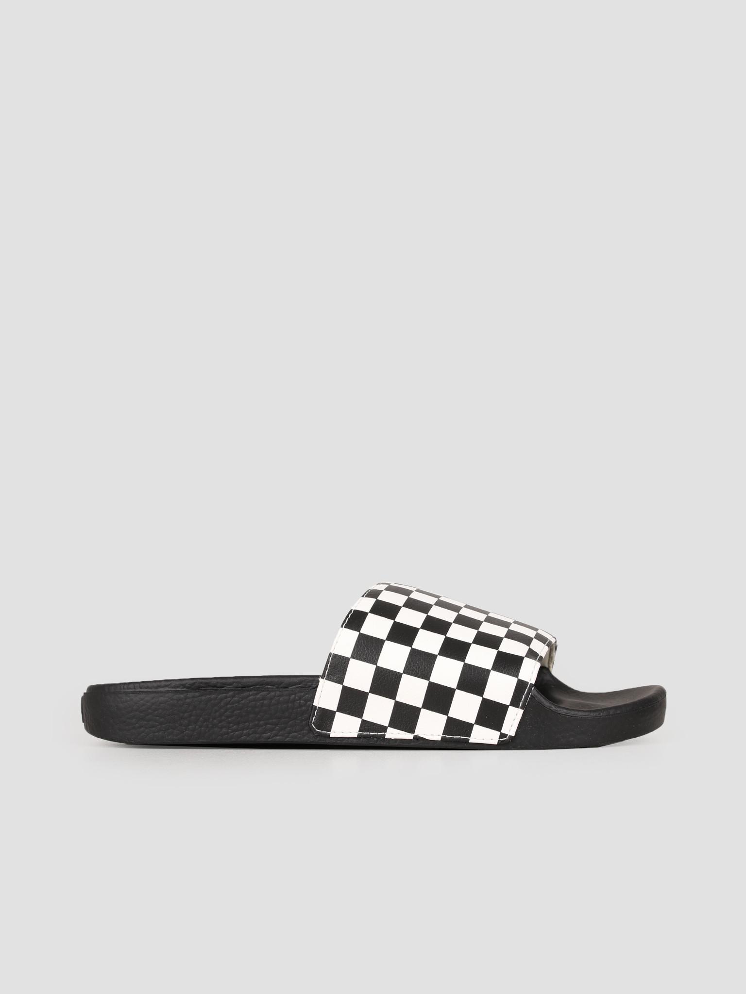 Vans Vans Slide-On Checkerboard White V4KIIP9