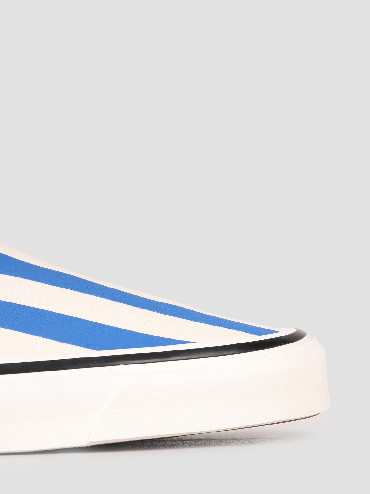 Vans Vans UA Classic Slip-On 98 DX Anaheim OG White OG Blue Big Stripes Vn0A3Jexvn01
