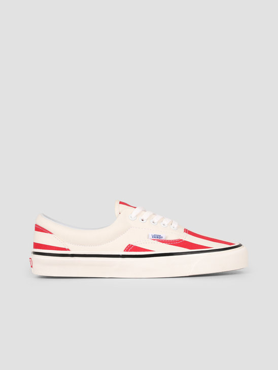 Vans UA Era 95 DX Anaheim OG White OG Red Big Stripes Vn0A2Rr1Vn21