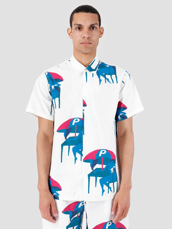 By Parra Camp Collar shirt Monaco Off White 42550