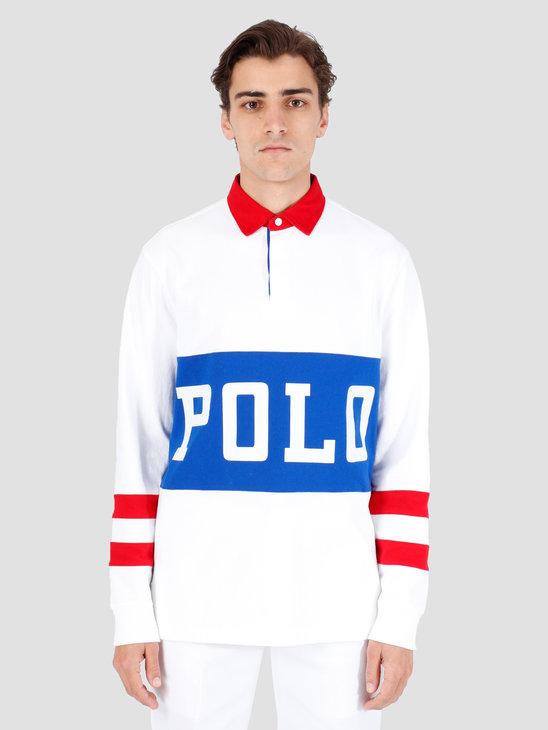 Polo Ralph Lauren Rustic U Jer Longsleeve White Mu 710746482001