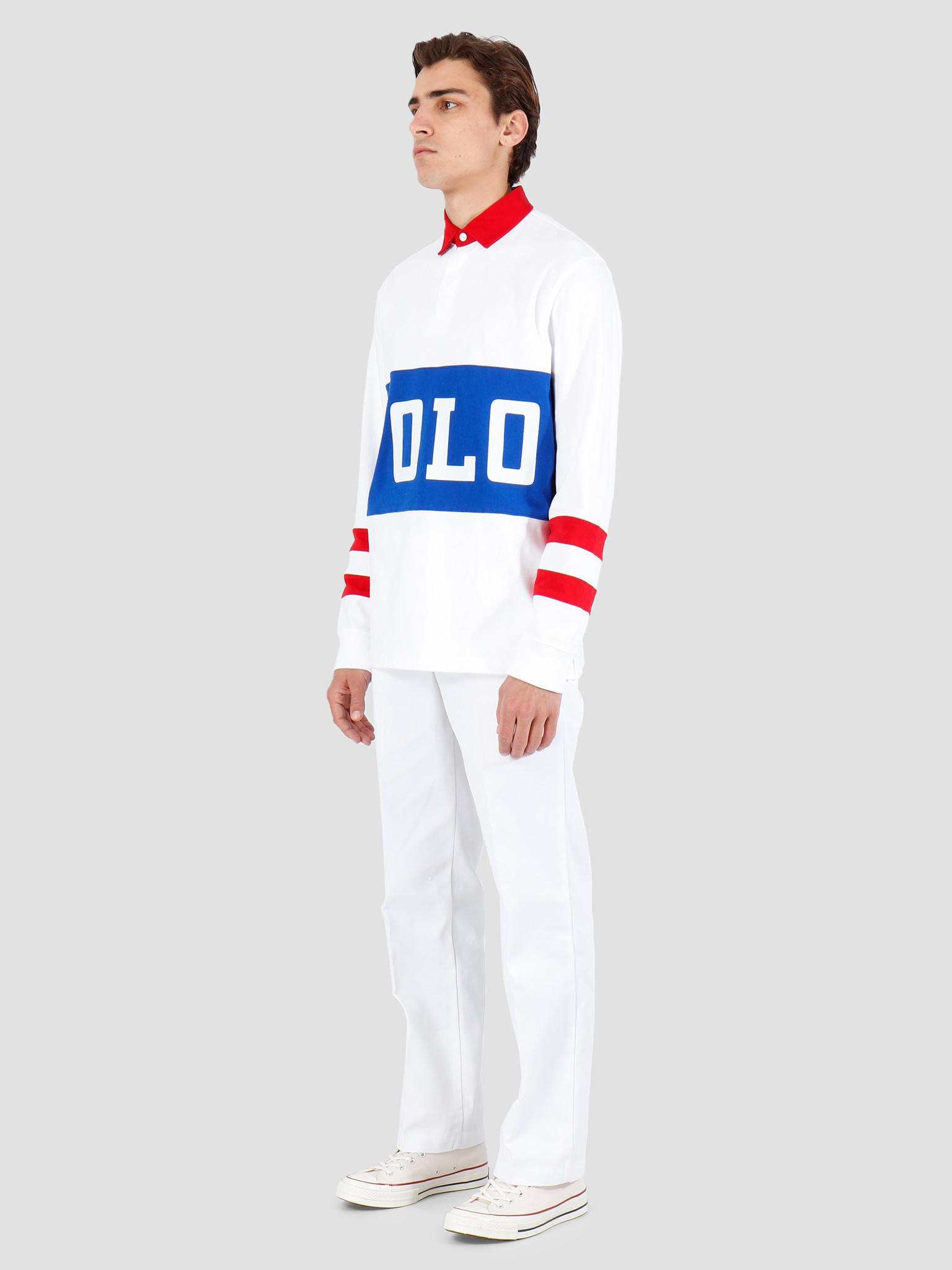 Polo Ralph Lauren Polo Ralph Lauren Rustic U Jer Longsleeve White Mu 710746482001