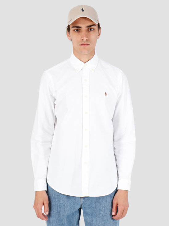 Polo Ralph Lauren Classic Fit Shirt White 710548535001